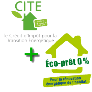 logo crédit d'impôt de 30%